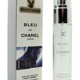 Мужской мини-парфюм с феромонами 45 мл Chanel Bleu de Chanel