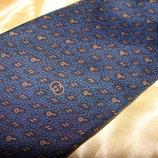 галстук Gucci оригинал шелк Италия винтаж идеал