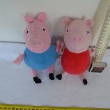 Джордж и Пеппа из свинки пеппа