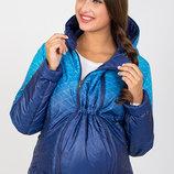 Короткая демисезонная двухсторонняя куртка для беременных Floyd