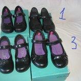 Туфли Clarks Англия оригинал 30-34 размер.Кожаные