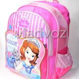 Школьный рюкзак для девочек Sofia magic розовый 3376