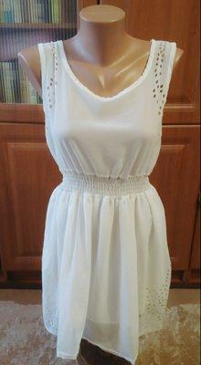 fc946e44f58 Летнее легкое белое платье с перфорацией  40 грн - женские ...