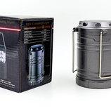 Фонарь кемпинговый светодиодный складной 7989 30 LED, размер 12,5х8,8см