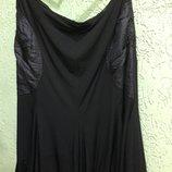 Юбка стильная, черная демисезонная, 18 размер, Фирмы Ladies Collection