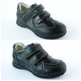 Детские туфли-кроссовки кожаные р. 26-31 для мальчика новые