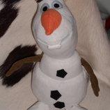 Скидка шикарная мягкая игрушка Снеговик Олаф Дисней Disney Англия оригинал 32 см