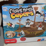 Скидка настольная игра на ловкость Crows Nest Capers game Games Hub Англия оригинал