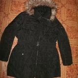 куртка-плащ пух