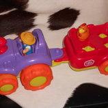 Скидка интерактивная игрушка трактор фермера Chad Valley Англия оригинал нюанс