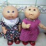 Кукла куколка лялька капустка виниловая Mattel Cabbage Patch Kids