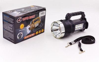 Фонарик ручной кемпинговый для машины 6870-USB 8 1 LED, длина 17см пластик