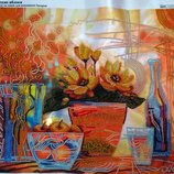 Картина вышитая бисером Сладкие яблоки