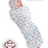 Кокон конверт для сна на молнии Канадское качество Хлопок Эко