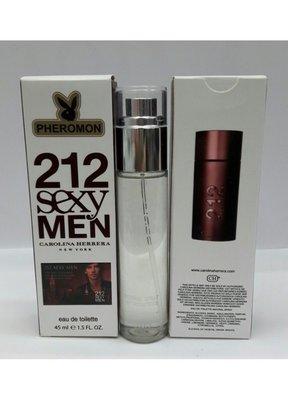 Carolina Herrera 212 Sexy Men 45 мл для мужчин