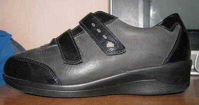 Немецкие ортопедические кожаные туфли-кроссовки Finn Comfort р. 38, ст. 24,5 см