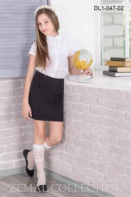 2 модели красивых школьных юбочек