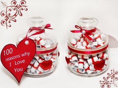 Подарок любимому или любимой - 100 resons why I Love You