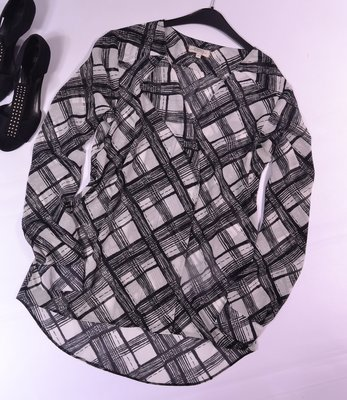 Шифоновая блуза на пуговицах Papaya