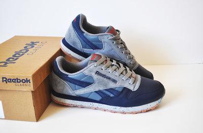 Кроссовки Reebok Classic gray/blue, Топ качество