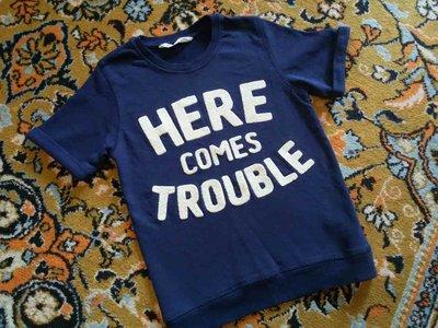 Крутая утепленная футболка от H&M на 6-8 лет, 130 см