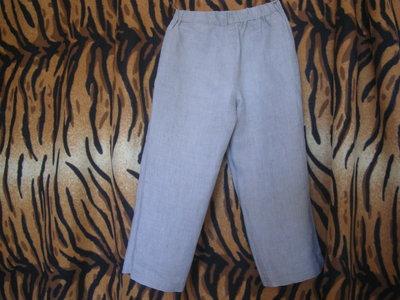 Супер брюки бежевые monsoon ,3-4года,100%лен.