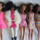 Лот кукол.Mattel кристин коллекционная кукла мулатка этническая Барби,barbie маттел винтажная опт