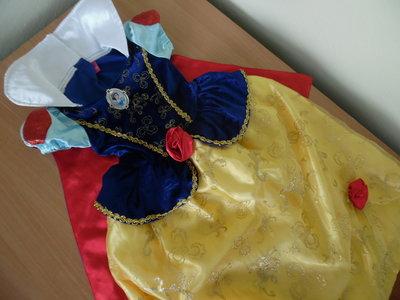 карнавальное платье костюм 3 г принцесса голубое девочке Disney Дисней детское Оригинал белоснеж