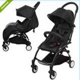 Прогулочная коляска Baby YOGA Yoya M 3548-2, черная