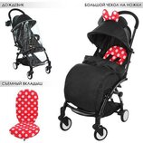 Прогулочная коляска Baby YOGA Yoya M 3548-2-3, Минни Маус