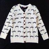 свитер, свитшот, усы, р-р S 14-15 лет , кардиган, оверсайз
