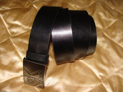 ремень Calvin Klein оригинал кожа черный 107 см идеал Louis Vuitton Burberry Gucci