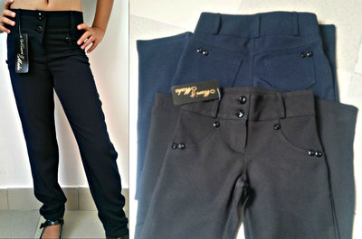 Школьные брюки для девочки р.122-158