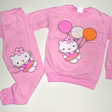 Пижама для девочки,2х нитка,начес,интерлок 1-5 лет.Турция отличное качество