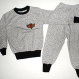 Пижама для мальчика,2х нитка,начес,интерлок 2-5 лет.Турция отличное качество .