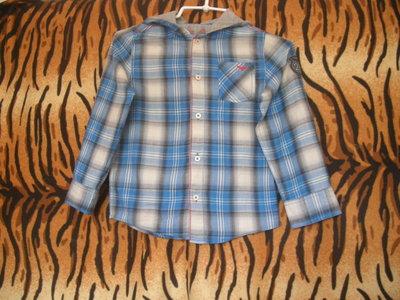 Супер рубашка cherokee ,7-8 лет,100%коттон.