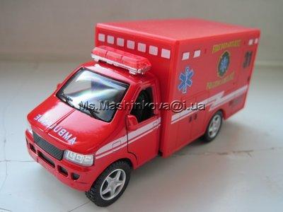 Машинка металл Спасательная служба KS 5259 W