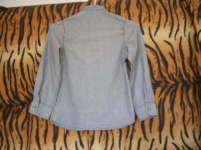 Супер рубашка rebel 7-8лет,100%коттон.
