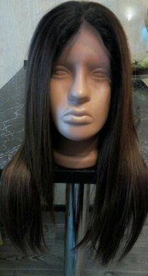 Парик Lace front как человеческие волосы