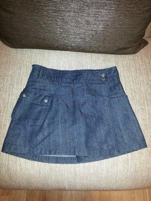Юбка-Шорты джинсовые, 8 лет