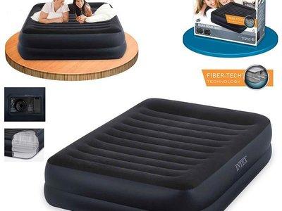 Велюровая надувная кровать Intex 64422