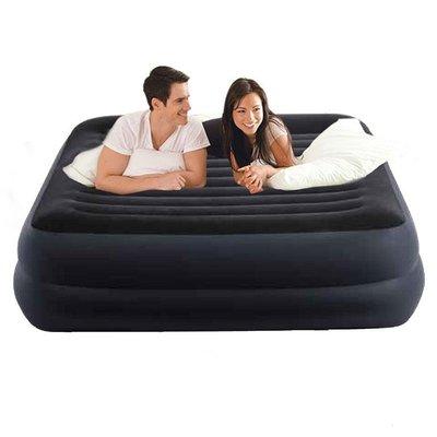 Велюровая надувная кровать Intex 64424