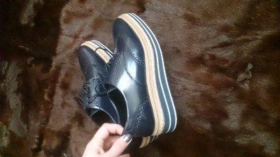 Туфли броги massimo dutti
