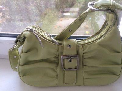 Салатовая сумка