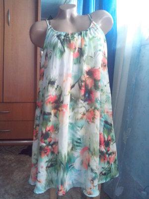 Отличнейшее красочное платье от Bershka