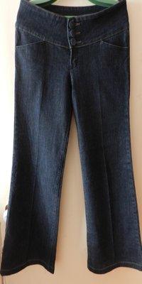 Мегастильные джинсовые брюки denim co р.48