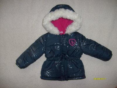 Демисезонная зимняя, еврозима куртка U.S. Polo Assn как новенькая
