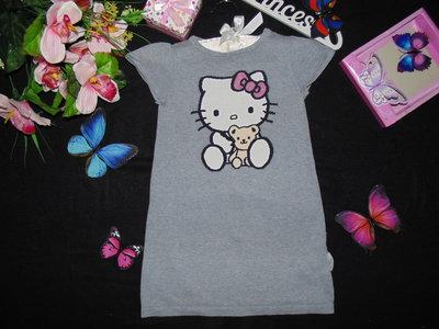 4-6лет.Платье-туника H&M Hello Kitty.Мега выбор обуви и одежды