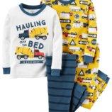 Комплект детских пижам для мальчика Carters бетономешалка
