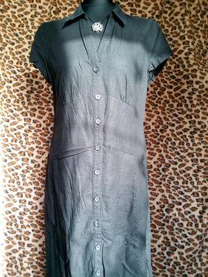 Платье-Халат BHS, цвет черный, р.48-50